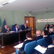 Un momento dell'incontro di partenariato del 23 maggio 2014