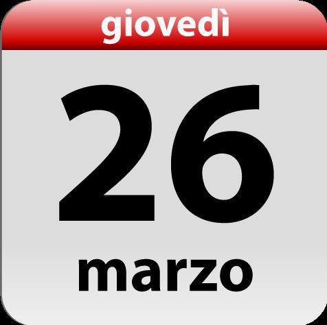 26 marzo 2015