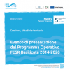 POR FESR Basilicata 2014-2020. Il 5 novembre a Matera l'evento di presentazione